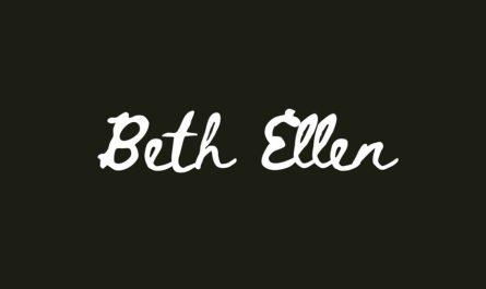 Beth Ellen Font Family Free Download
