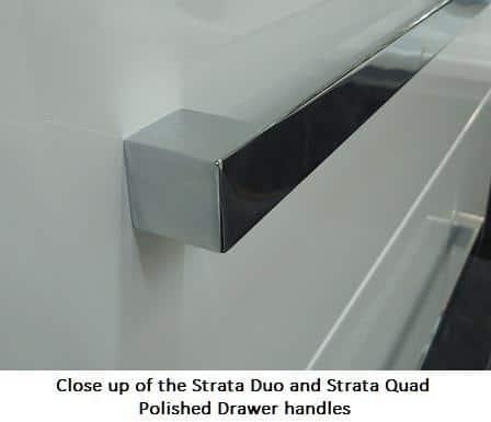 Wall Hung Vanity Strata Duo 600mm