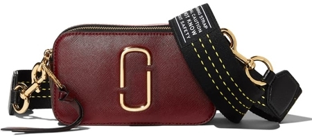 The Marc Jacobs leather crossbody bag | 40plusstyle.com