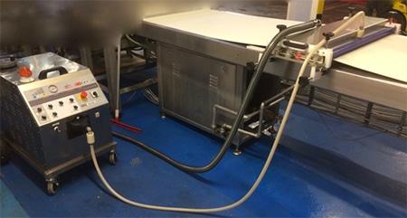Brushless System - Nettoyeur vapeur industriel automatisé - Brushless System automatisme pour nettoyeur vapeur sèche industriel nettoyage agroalimentaire
