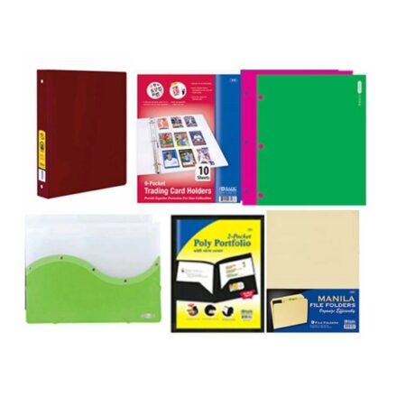 Files Organizers Folders & Binders