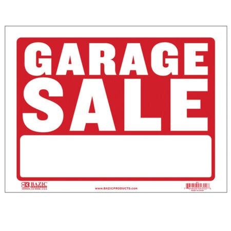 Cheap garage sale signs