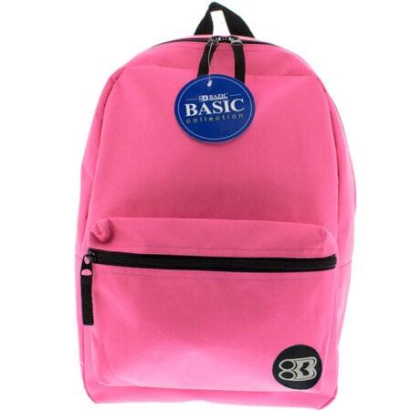 """16"""" fuchsia backpack"""