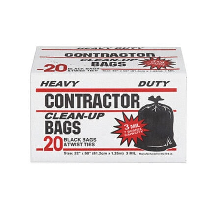 Heavy Duty Trash Bags & Contractor Bags