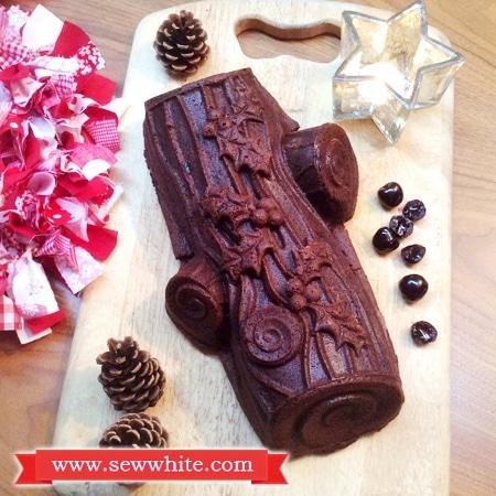 Sew White Christmas Black Forest Chocolate Cake 2
