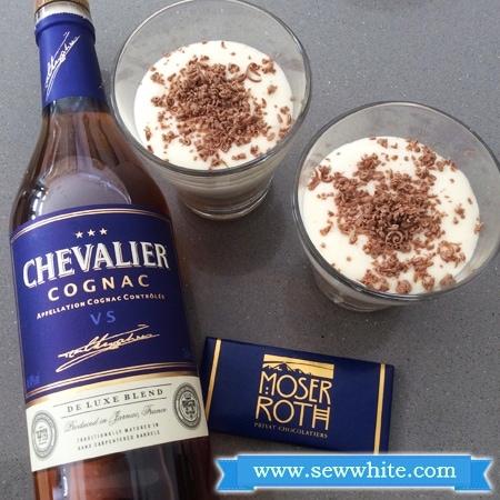 Sew White chocolate and Cognac tiramisu 4