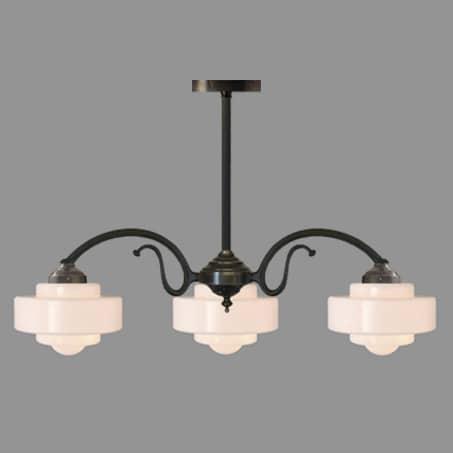 Lighting pendant Art Deco Multi Arm