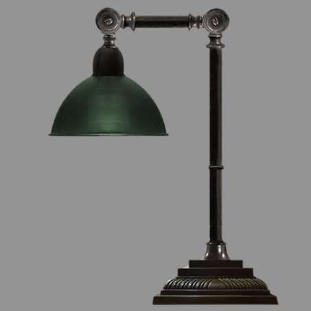 Desk Lamp Antique finish Swivel Arm