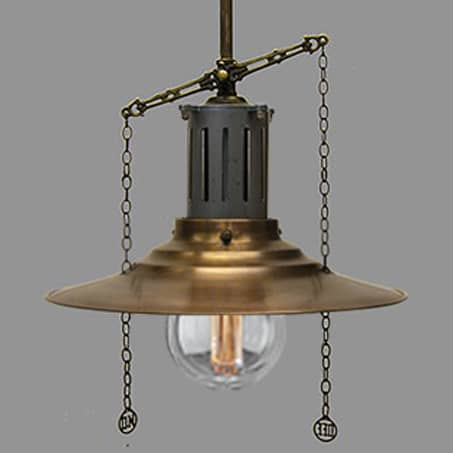 Lighting Pendant With Gas Pull chain design