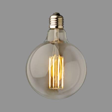Globe Lamp LED Gold Finish 2100k 95mm