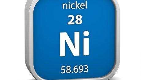 Nickel material sign