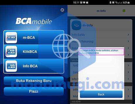 Mengatasi BCA Mobile Terblokir Salah PIN 3x