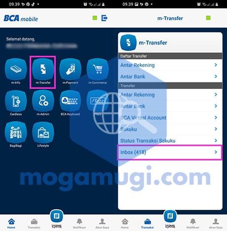 Melihat Bukti Transfer BCA Mobile Terbaru