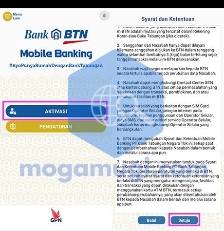 Aktivasi Ulang BTN Mobile