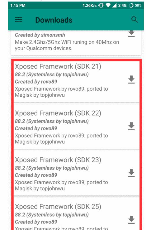 Cara pasang Xposed menggunakan Magisk