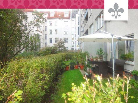 Kapitalanlage: Vermietete 2-Zimmer-Wohnung im schönsten Schmargendorf, 14193 Berlin, Erdgeschosswohnung