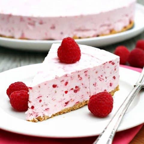 Frozen Raspberry Cheesecake