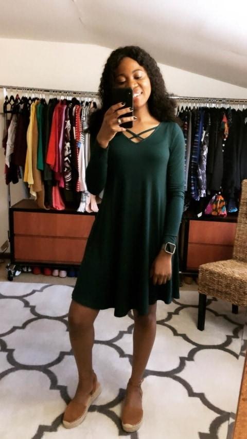 Amazon Fashion Haul - Crisscross T-Shirt Dress