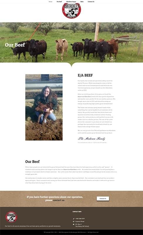Aberdeen Angus Beef