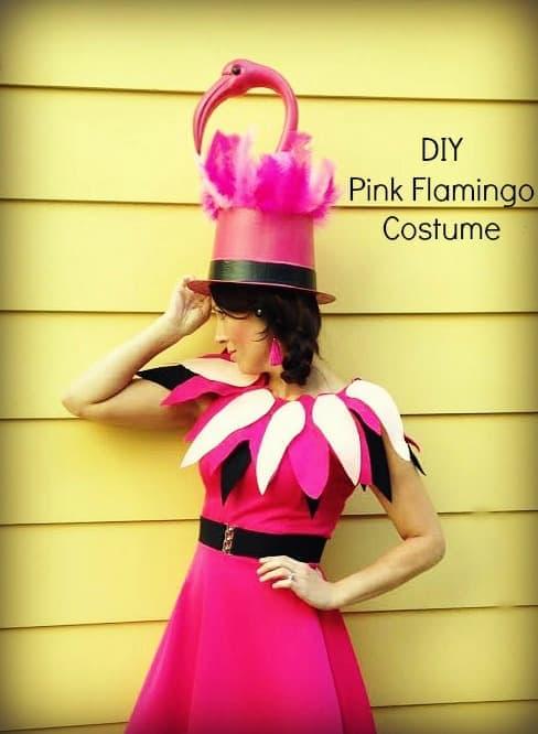 DIY-Pink-Flamingo-Costume