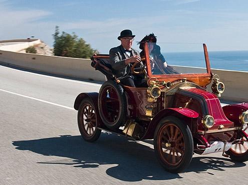 Rally de carros antigos de Sitges