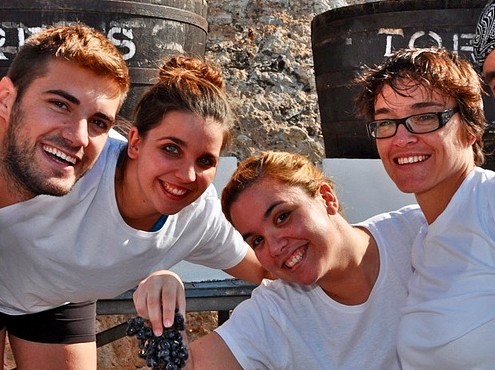 Wijnoogstfestival van Sitges