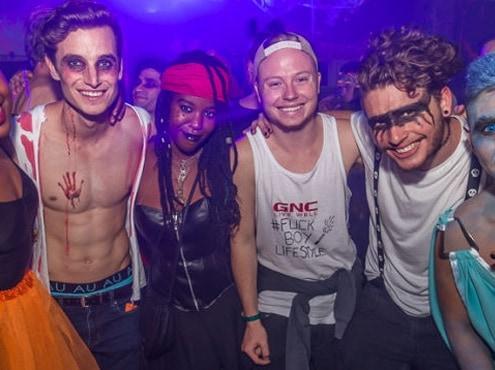 Halloween party in Kaapstad