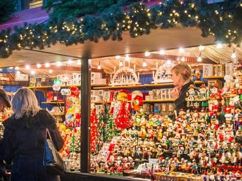 Mercados de Navidad de Edimburgo