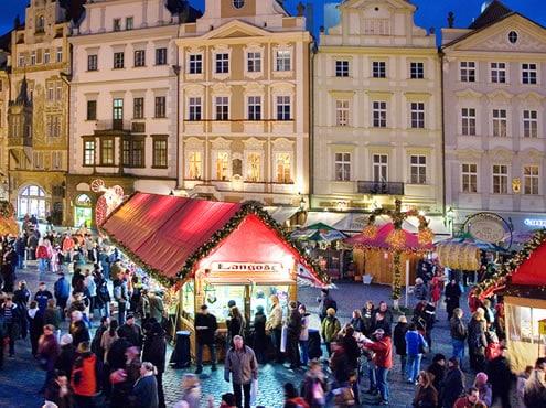 Marchés de Noël à Prague