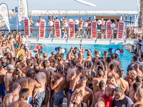 Fiesta en la playa de La Leche - Miami Circuit Party Weekend