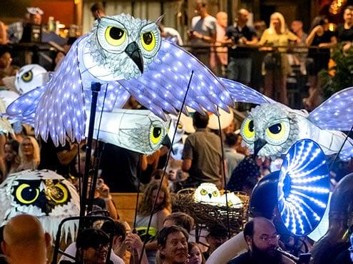 Défilé des lanternes BeltLine d'Atlanta