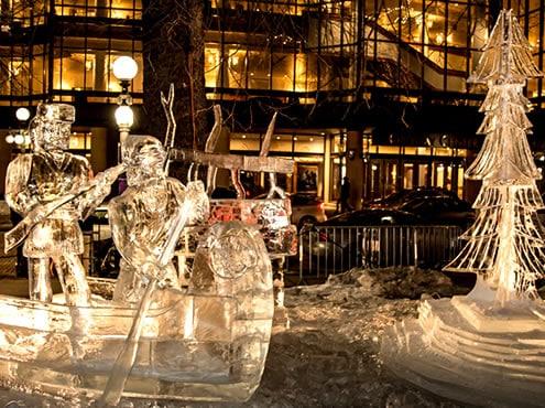 Миннеаполис и зимний карнавал Святого Павла