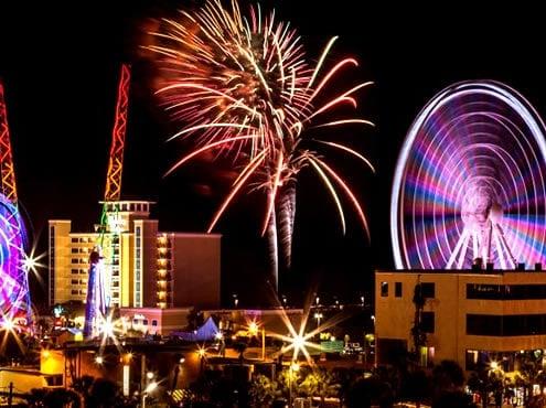 Célébrations du 4 juillet à Myrtle Beach