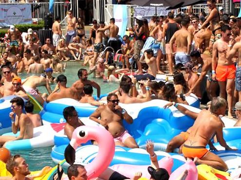 Le Parties San Diego, Pride Weekend & Pool Parties