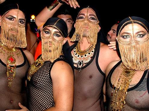 San Diego Halloween Block Party op Hillcrest
