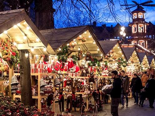 Mercados navideños alemanes de Birmingham