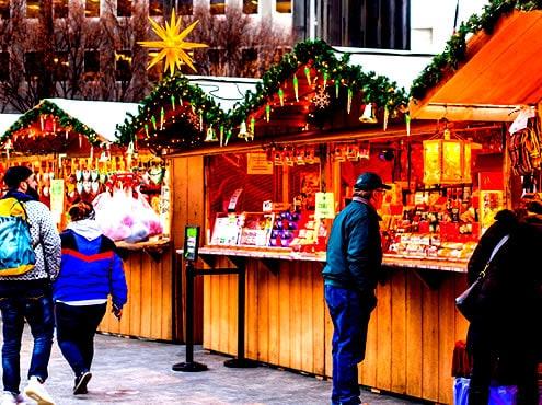 Mercado navideño de Filadelfia y atracciones navideñas