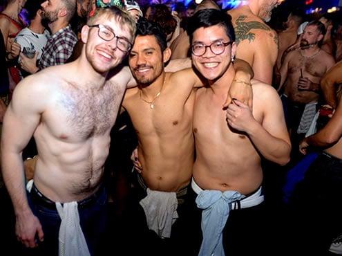Rafael Sanchez présente la Boston Gay White Party