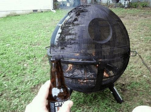Death Star DIY Fire Pit