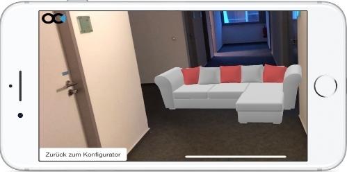 Augmented Reality Konfigurator der ObjectCode GmbH