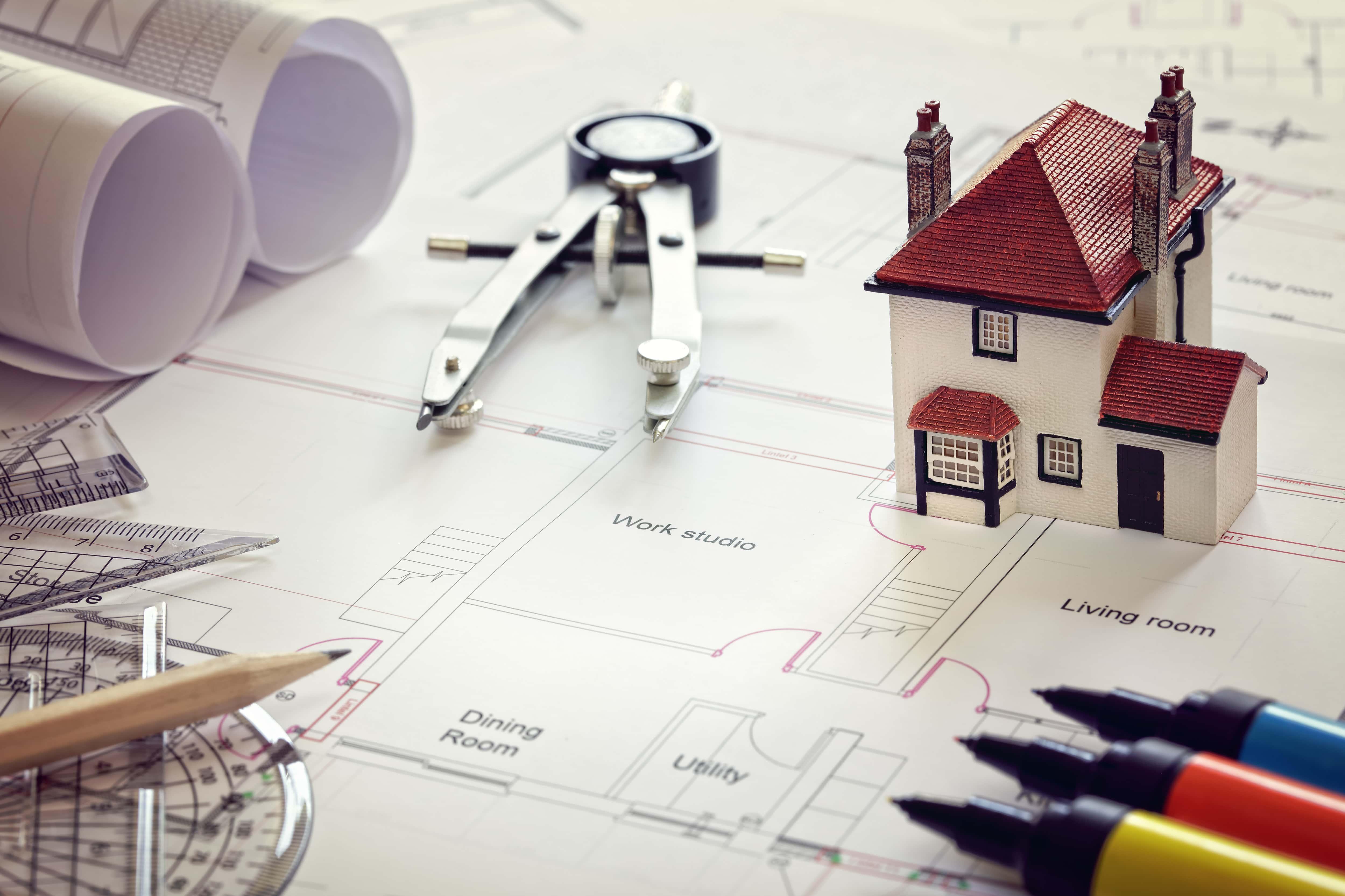 un permis de construire est un dossier à constituer pour obtenir l'autorisation de bâtir