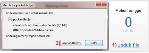 cara download file 4shared