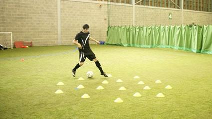 Gareth Bale Dribbling Drill