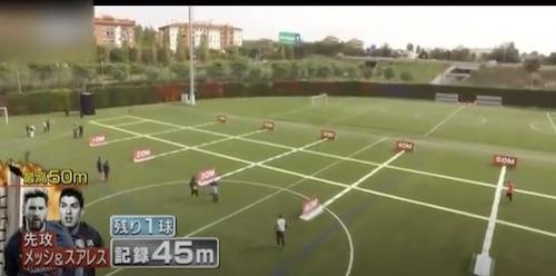 Messi Suarez Long Distance Juggling