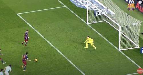 Messi Trick Penalty Kick