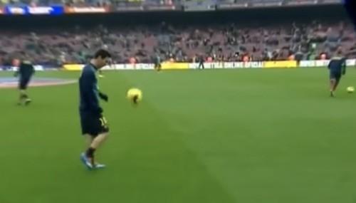 Messi Juggling Warmups