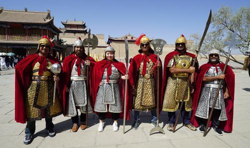 Jiayuguan to Dunhuang