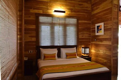 アーユルヴェーダのホテル、カルナカララの部屋