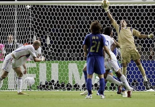 Buffon Zidane Header