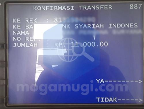 Biaya Transfer Mandiri ke Bank Syariah Indonesia